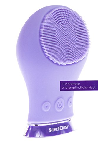 SilverCrest® Elektr. Gesichtsreinigungsbürste SGRS 3.7 A1 Violett