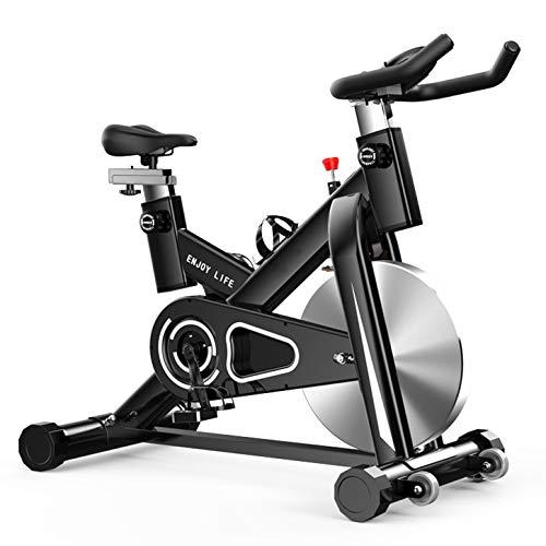 YDYGSport Vertical Bicicleta, soporte de brazo acolchado, asiento cómodo, pulso de la mano con soporte para consola y tablet