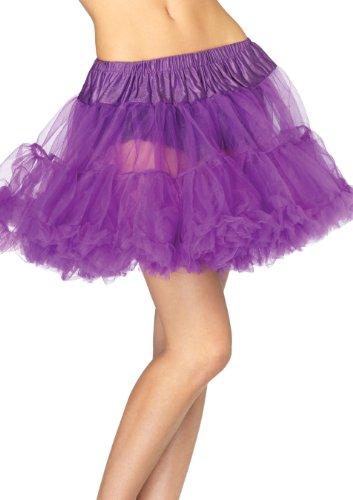 LEG AVENUE 8990 - Petticoat lila Kostüm Damen Karneval, Einheitsgröße (EUR 36-40)