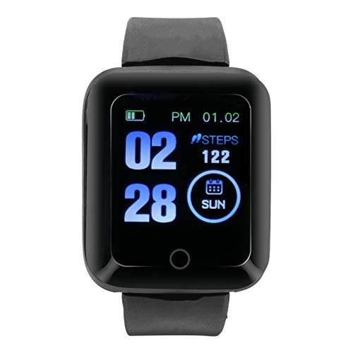Omabeta W1 Sports Smart Bracelet Deportes Fitness Watch Transmisión de datos Smart App Wearable Hardware Reloj Deportivo Pulsera Multi‑Sport Modo para Ciclismo