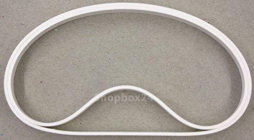 Bandage / Belagband für die Bandsägenmaschine für mehrere Modelle passend , 2 teilig , hochwertig , Bindeglied zwischen Bandsägemaschine und Sägeband, Ø Umlenkrolle 350 mm , Breite 24 mm , Höhe 3 mm , Ersatz vom Laufrollenbelag Rollenbelag