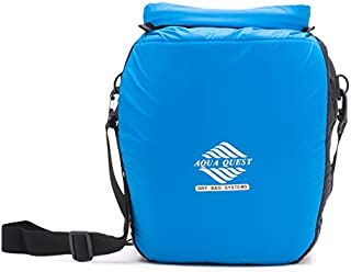Aqua Quest Cool CAT Insulated Cooler Bag - 100% Waterproof Thermal Dry Bag 12L Padded Bag with Shoulder Strap, Roll Top Closure