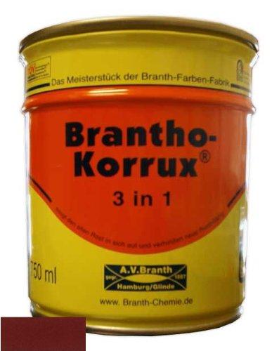 Brantho Korrux '3 in 1' 0,75 l 3009 Rotbraun (23,33 EUR/l)