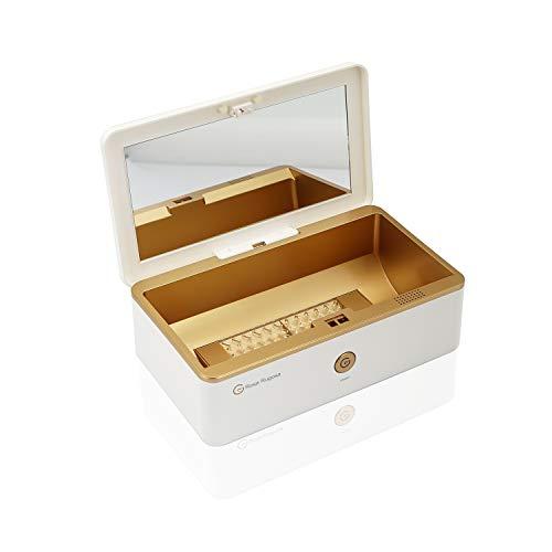 UV Sterilisator Desinfektion Box mit Ozon Desinfektionsgerät Smartphone Sterilisator Handy Sanitizer für Telefon Schmuck Maske Makeup Bürsten Babyflasche Sterilizer