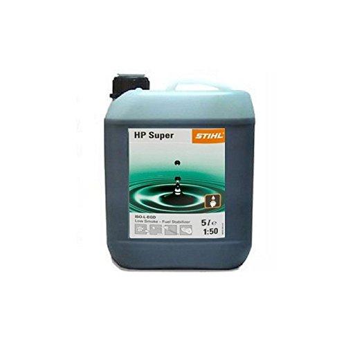 Stihl HP Super Semi Synthetische 2 takt olie 5 liter fles deel No.0781 319 8055