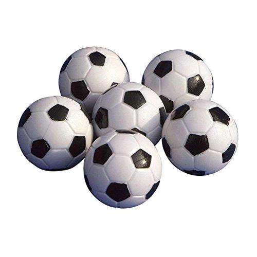 ULTNICE Pelotas para Futbolín Bolas del balompié de la tab