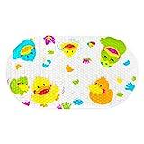 OTHWAY Alfombrilla de baño Antideslizante para bebé, Alfombrilla antimoho para...