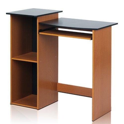 Furinno Econ Multipurpose Computer Writing Desk, Light Cherry/Black