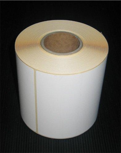 Thermoetiketten auf Rolle Thermo ECO 100 x 150 mm 320 Stück pro Rolle Kern 40 mm Perforation nach jedem Etikett Kleber permanent