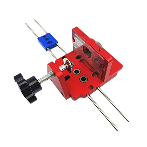 Drill X400 3 In 1 Woodworking Hole Drill Punch Positioner Guide Locator Jig Joinery System Kit Aluminium Alloy Wood Working Diy Tool