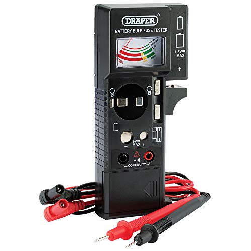 Draper 90478 Batterien-, Sicherungs- und Durchgangsprüfer