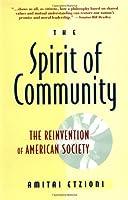 Spirit Of Community by Amitai Etzioni(1994-05-24)