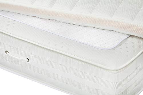 MOON 2er Pack clean Anti-Rutsch Unterlage mit Noppen für Boxspring Betten Topper und Matratzen 60° waschbar (60x170 cm)