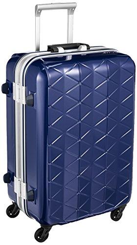 [サンコー] スーツケース フレーム SUPER LIGHTS MG-C 軽量 消音/静音キャスター MGC1-57 56L 57 cm 3.5kg ネイビー