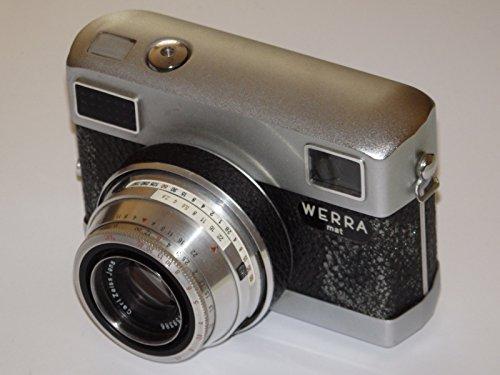 Werra-mat - Format Kleinbild 24 x 36 mm inkl. Objektiv Carl Zeiss JENA Tessar 2,8/50 - Verschluss: Prestor-RVS / 750