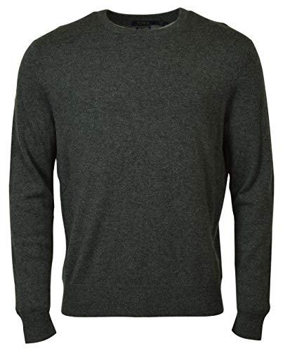 Polo Ralph Lauren Men's Regular Fit Cashmere Crewneck, Grey, Size X-Large