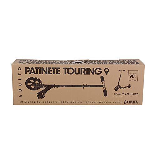 Patinete Touring (Adulto) Bel Fix Preto