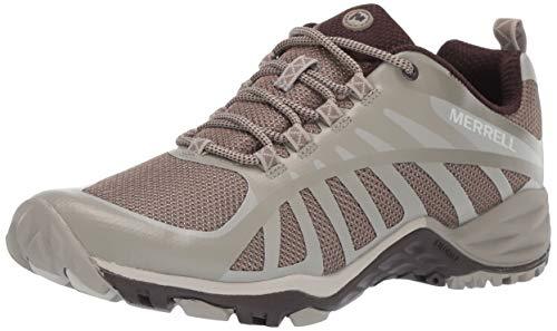 Merrell Siren Edge Q2, Zapatillas de Senderismo para Mujer, Gris (Aluminum), 36 EU