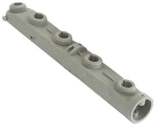 Bras de lavage pour lave-vaisselle Colged Silver-50, Silver50, Steeltech-360, 50, Elettrobar 050FP EP - Longueur : 220 mm - Diamètre : 24 mm