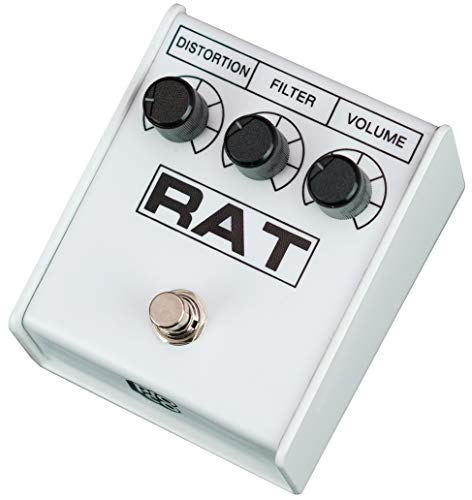 "Pro-co RAT 2 WHITE ""IKEBE 40th Anniversary"" Distortion pedal From import JPN"