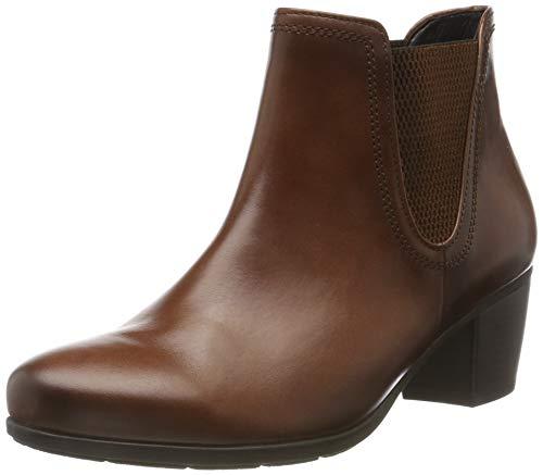 Gabor Shoes Damen Basic Stiefeletten, Braun (Sattel (Effekt) 22), 38.5 EU