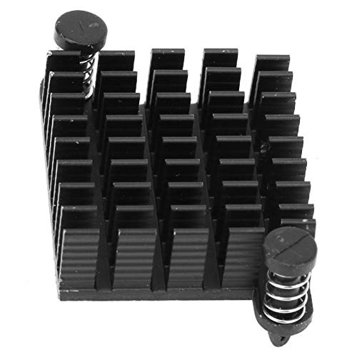 Disipador de calor con orificio de paso y clavos Aleta de refrigeración Raditor Electrónica para placas de potencia y amplificadores Fuentes de alimentación