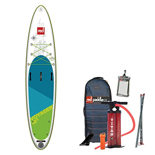 Red Paddle Voyager 12'6' MSL, SUP Unisex Adulto, Multicolor, Unica