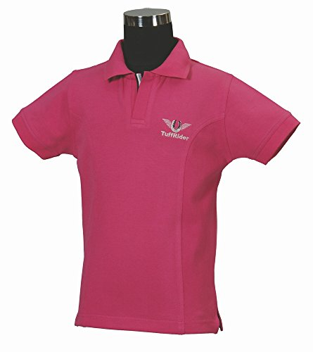TuffRider Girl's Polo Shirt, Hot...