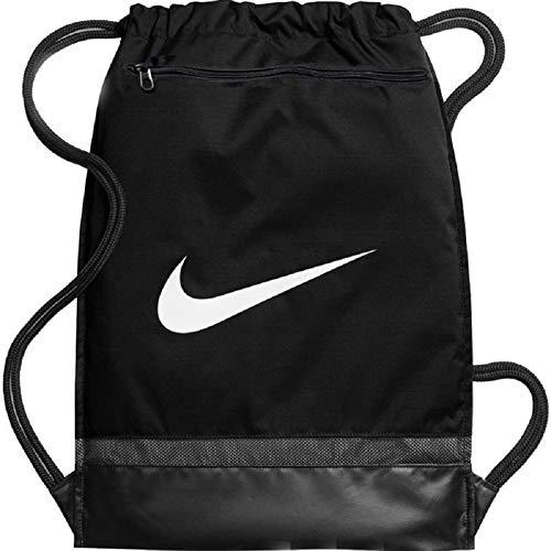 Nike Brasilia Training Gymbag Gymsack Turnbeutel (one Size, Black/White)