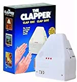 Clapper Sound Activated Switch - On/Off Hand Clap Electronic Light 110v - Clap Detection,2 Devices Home Or Away Settings