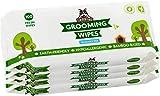 Pogi's Grooming Wipes - Toallitas húmedas - 400 toallitas desodorantes para Perros - No...