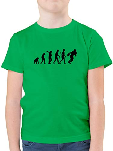 Evolution Kind - Football Evolution RB - 164 (14/15 Jahre) - Grün - F130K - Kinder Tshirts und T-Shirt für Jungen