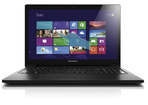 Lenovo G500 15.6-inch Laptop - Black (Intel Celeron 1005M 1.9 GHz, 4 GB RAM, 1 TB HDD, DVDRW, Webcam, BT, Integrated Graphics, Windows 8.1)