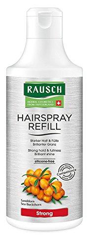Rausch Hairspray Strong Non-Aerosol Nachfüllflasche (für dauerhaften, starken Halt und strahlenden Glanz - Vegan), 1er Pack (1 x 400 ml)