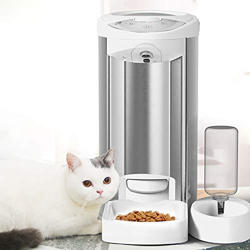Sweet Automatischer Futterautomat Katze Automatischer Futterspender FüR Katze Und Hund Hd 1080p Video WiFi Zwei-Wege Audio 10s Aufnahme FüR Katzen/Hunde