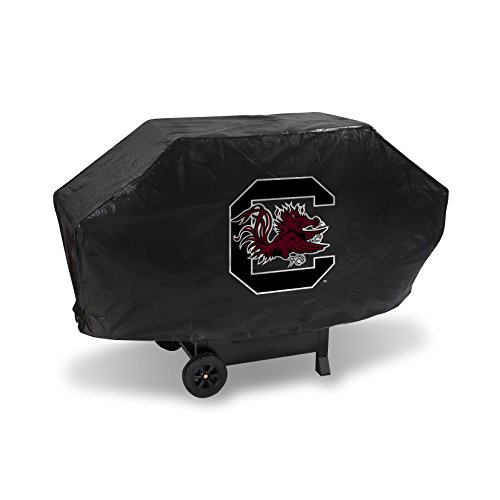NCAA Rico Industries  Vinyl Padded Deluxe Grill Cover, South Carolina Fighting Gamecocks