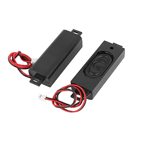 NEW LON0167 2 Pcs 2W 8 Ohm XH-2P Amplificador de altavoz magnético para portátil(2 stücke 2 watt 8 ohm xh-2p note-book magnetische lautsprecher lautsprecher verstärker