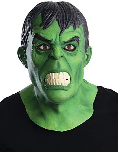 Generique - Masque en Latex Deluxe Hulk Adulte