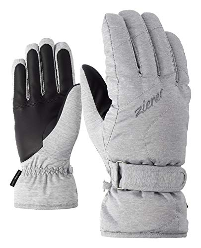 Ziener Damen KADDY lady glove Ski-handschuhe, light melange, 7.5 (M)