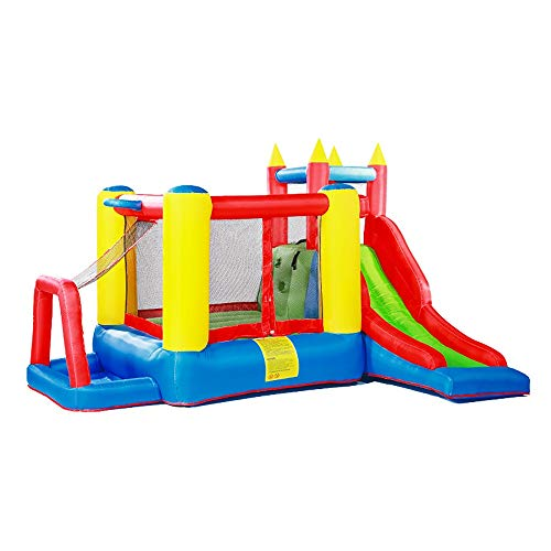 Find Bargain Kids Inflatable Bounce House Inflatable Bounce House Funny Bouncy Castle with Water Sli...