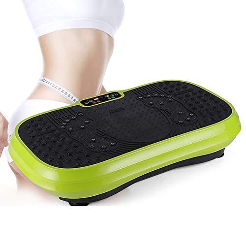 ZXL trilplaat voor fitness, 3D-vibratie, krachtig, afstandsbediening, apparaat met laag geluid, vetbrander, fitnessmachine voor de voet, massageapparaat Shiatsu