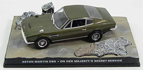 アストンマーティン ミニカー 1/43 ASTON MARTIN DBS 1969 ジェームズボンド 映画 007 女王陛下の007 [並行...