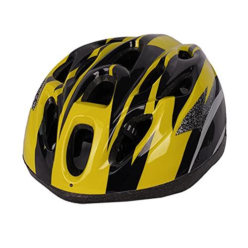 Taloit Casco de bicicleta especializado para hombres y mujeres, ultraligero tamaño ajustable cómodo transpirable casco de ciclismo para protección de la cabeza