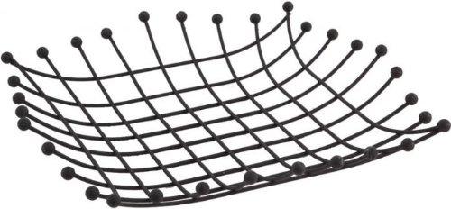 GRIGNO-TEK Corbeille métallique laqué noir mat CPL1690