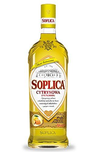 1 Flasche Soplica Zitrone mit Honig/Cytynowa Likör aus Polen a 0,5L