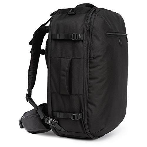 Tortuga Women's Setout 45L - Max-Size Carry On Travel Backpack (Black)