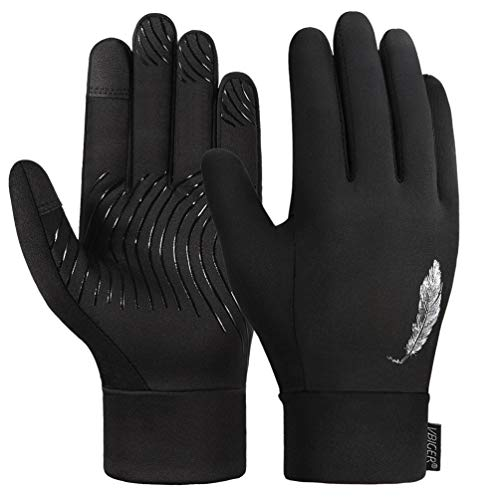 VBIGER Kinder Handschuhe Touchscreen Handschuhe Radhandschuhe Leichte Laufen Handschuhe Winterhandschuhe für Frühling und Herbst, früher Winter