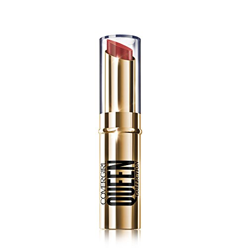 COVERGIRL Queen Stay Luscious Lipstick Crown Ruby, .12 oz (packaging may vary)