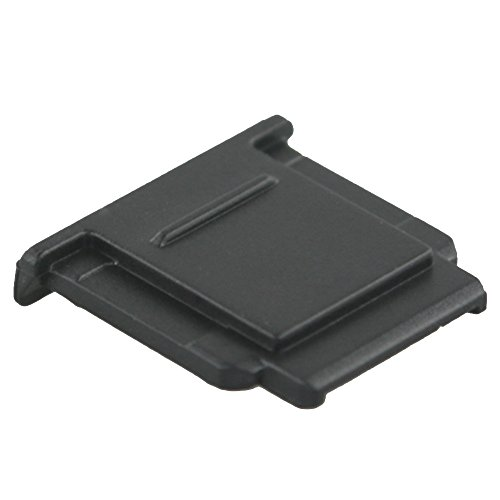 JJC HC-S Hot Shoe Cover Cap for Sony A7RIV A6600 A6100 A6000 A6300 A6500 A7III A7II A7 A7RIII A7RII A7R A7SII A7S A9 A99II A77II RX1 RX1RII RX10 IV III II HX400V HX60 Camera as Sony FA-SHC1M - Black