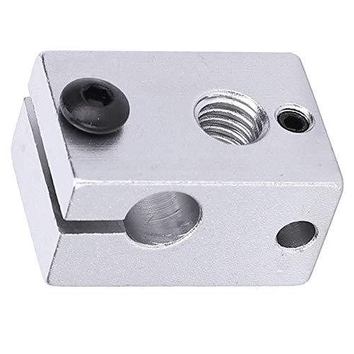 Accesorio de las piezas de la impresora 3D del bloque del calentador 5pcs para el equipo de la máquina de la impresora